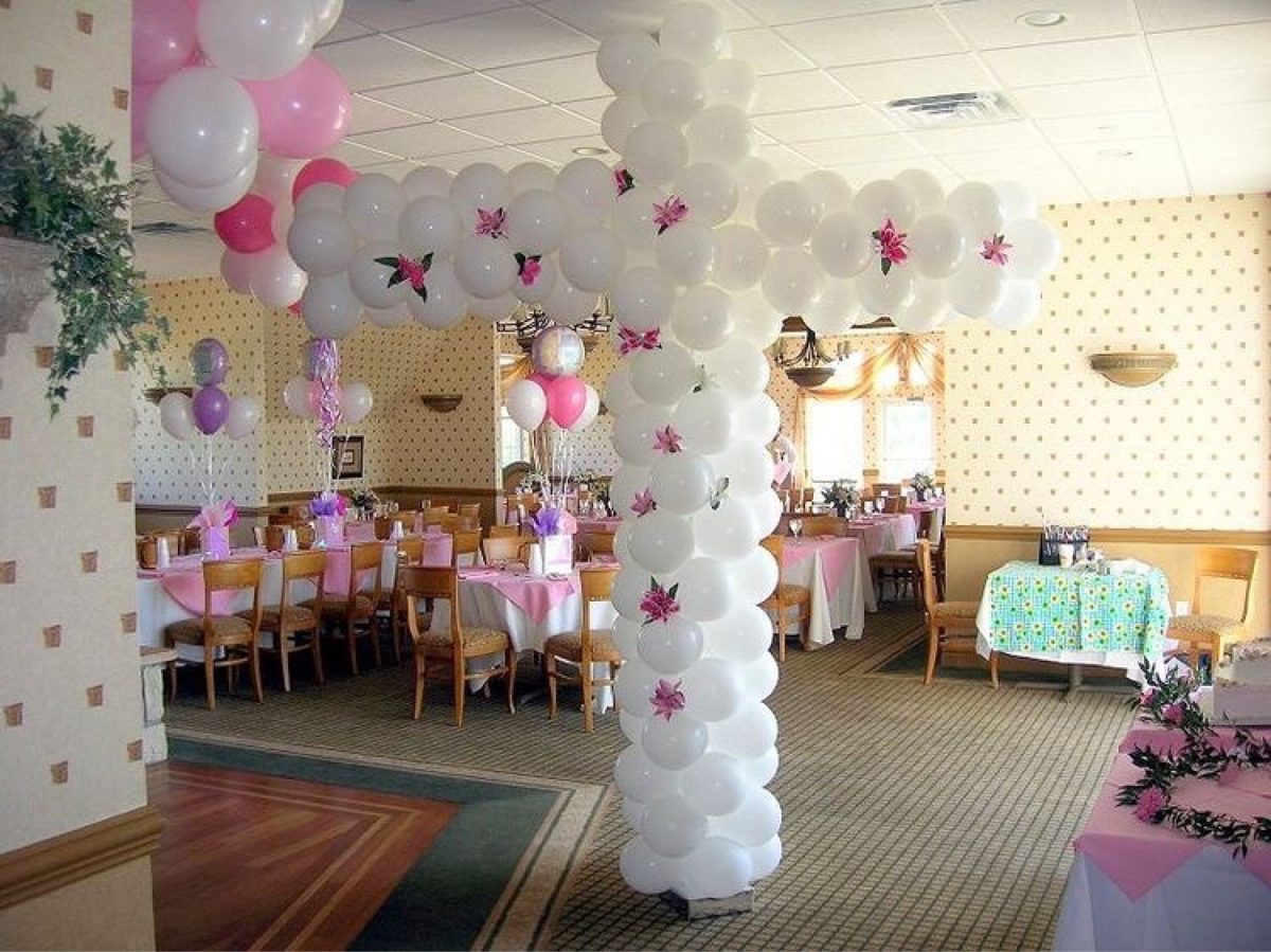 Decoraci n globos bautizo o primera comuni n 1 for Buscar decoraciones