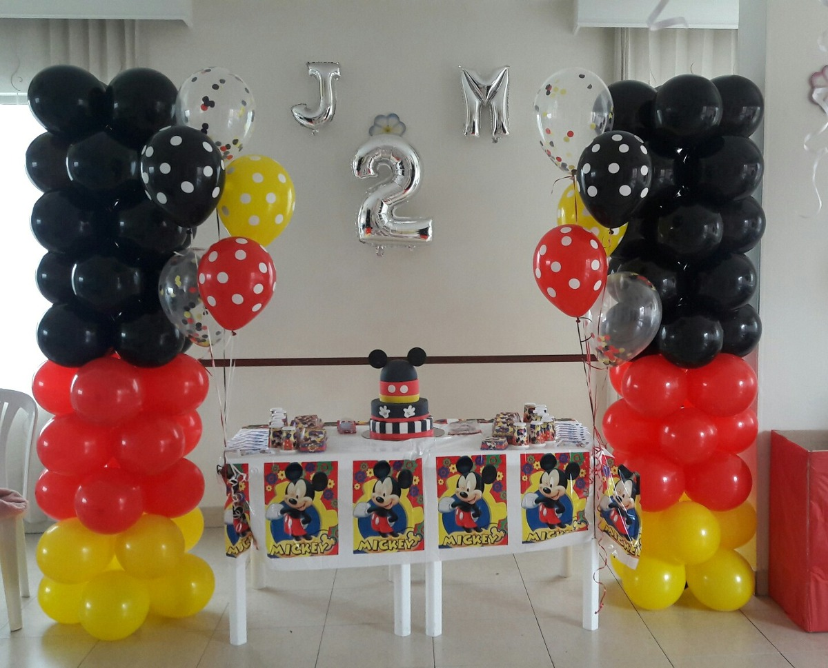 Decorar con globos sin helio great decoracin con globos for Decoracion simple con globos