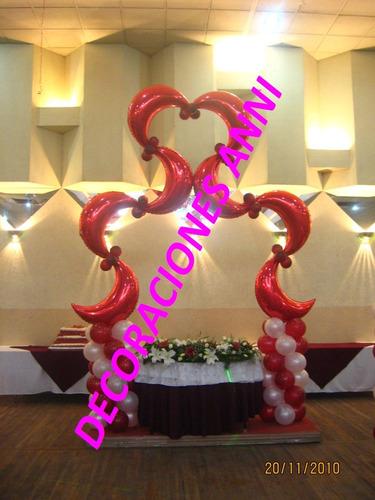 decoración globos fiestas, eventos,