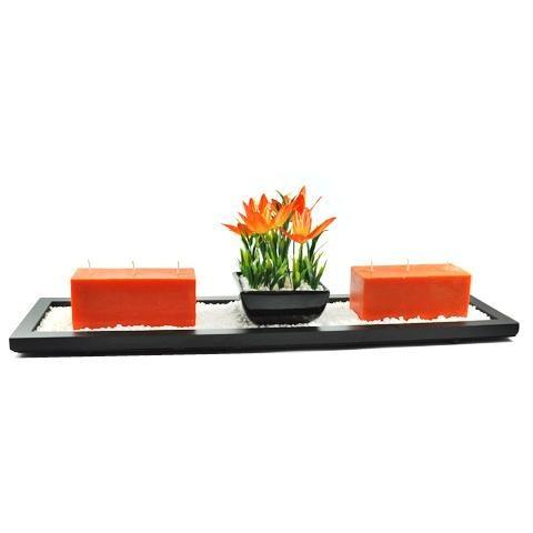 decoración hogar florero cerámica