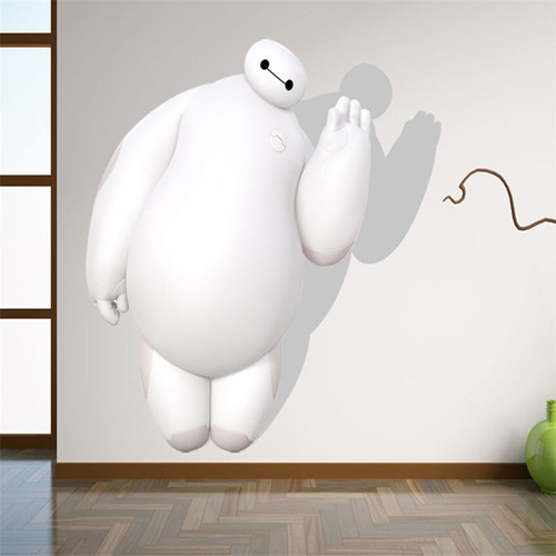 decoracion hogar pegatina pared 3d dibujo animado creativo