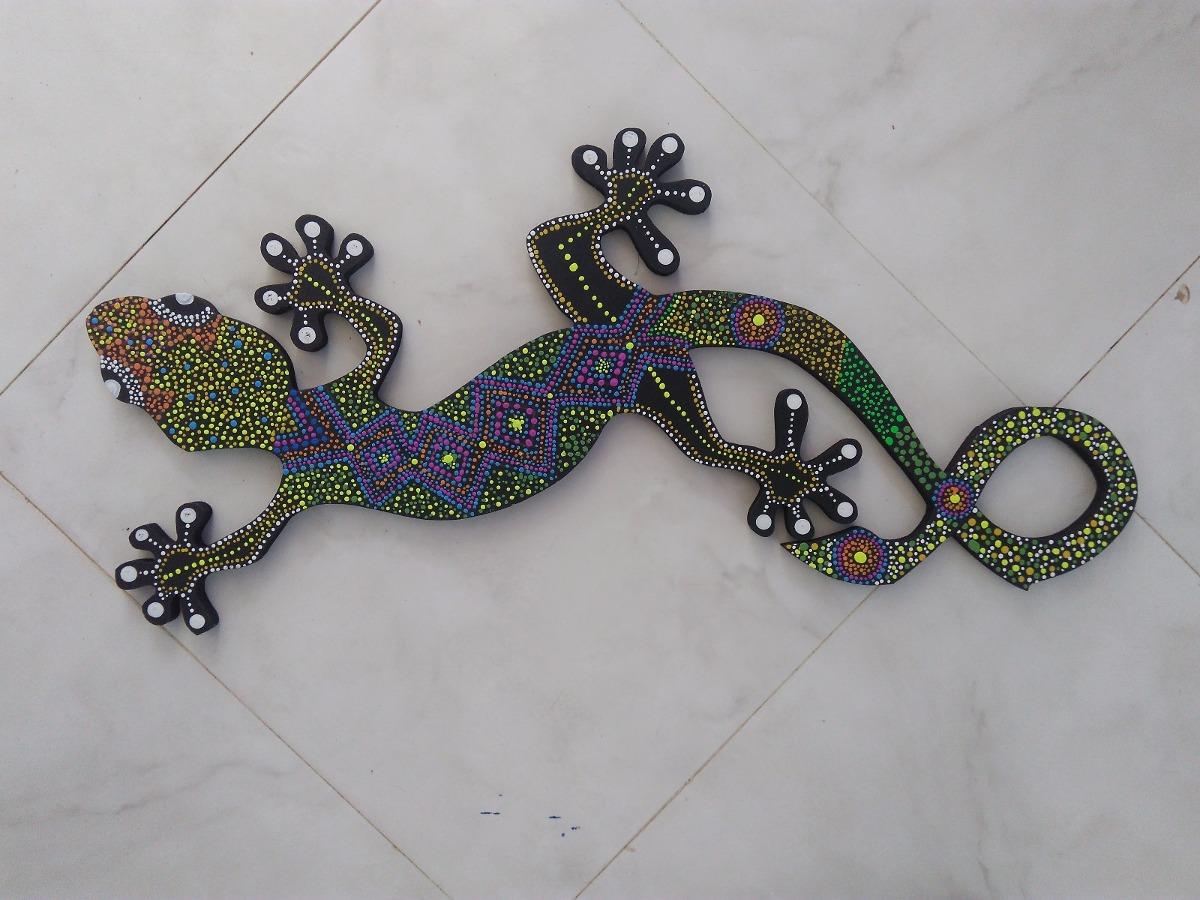 Lagartijas De Madera Artesania Decorativa en Mercado Libre Colombia