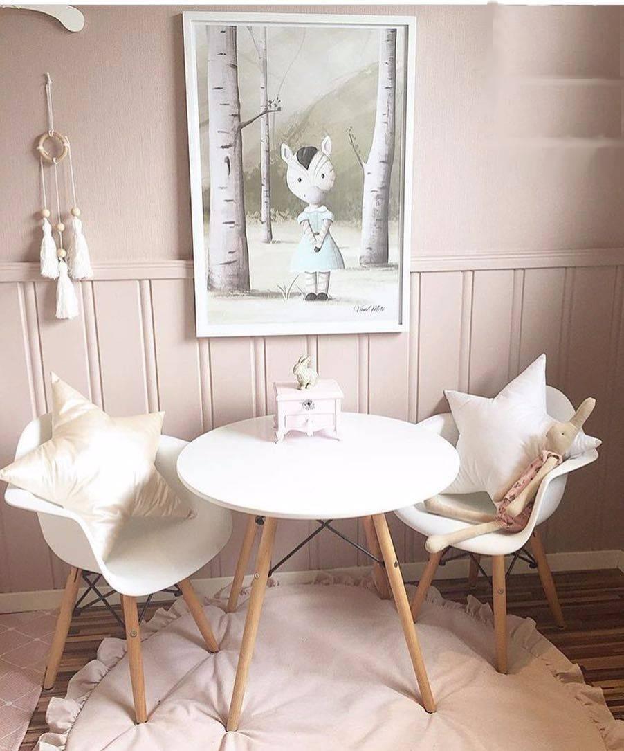 Decoracion Interiores Living Comedor Sillon Eames Blanco 1u ...