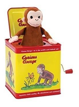 decoración, jorge el curioso jack in the box