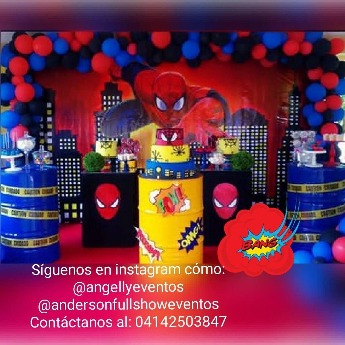 Decoración Lol Spiderman Avengers Moana Frozen