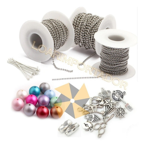 decoracion mates souvenirs kit combo dijes y cadenas