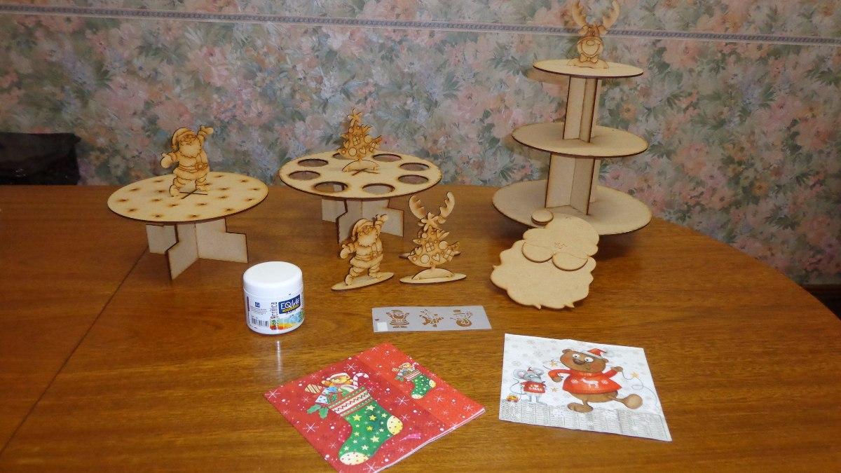 Decoraci N Mesa Dulce Navidad Promo Manualidades Navide As 700