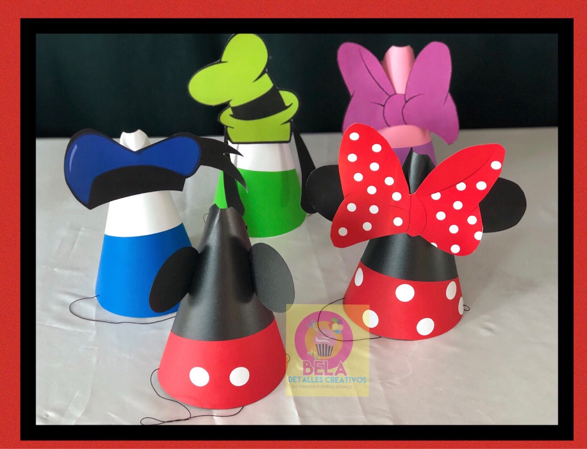 Decoraci n mickey mouse mimi minnie mouse cojin for Decoracion de puertas para cumpleanos