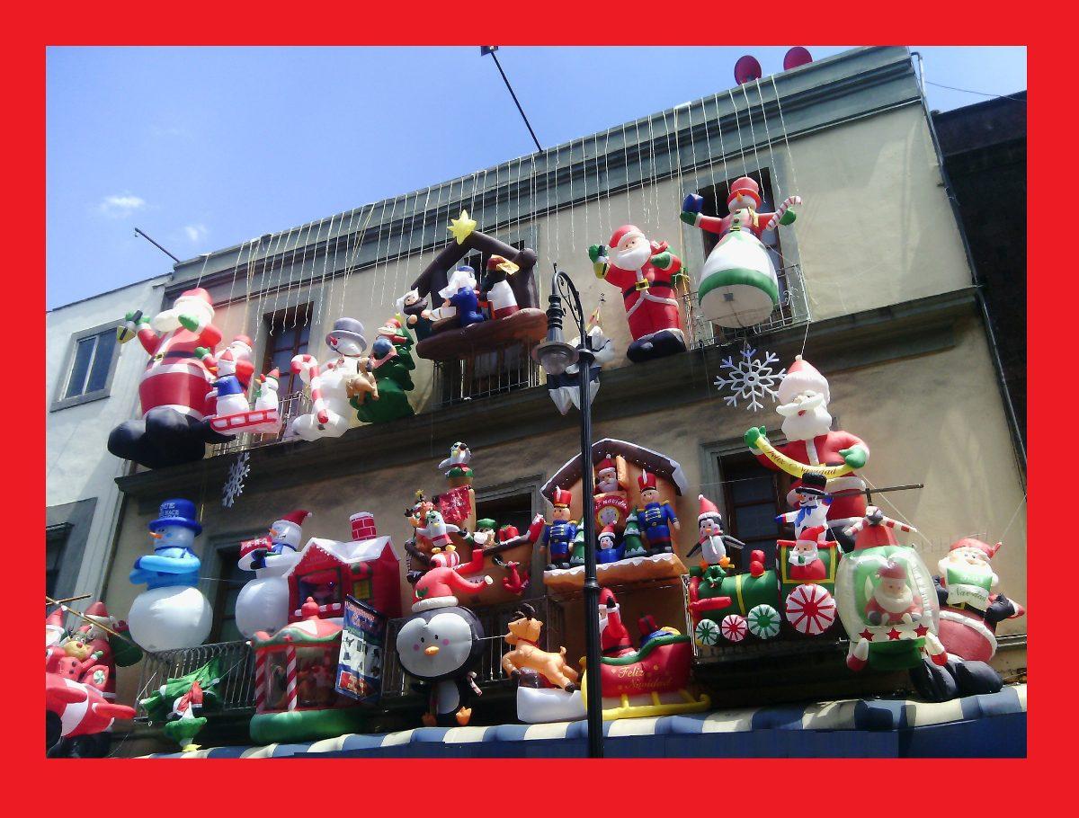 3853af87d46 Muñeco Navideño Inflable Decoracion Navidad Envio Gratis ...
