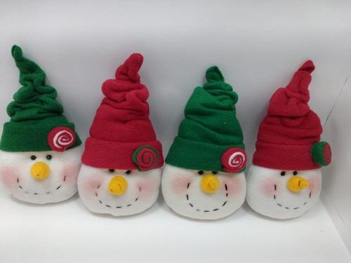 decoración navidad muñeco árbol