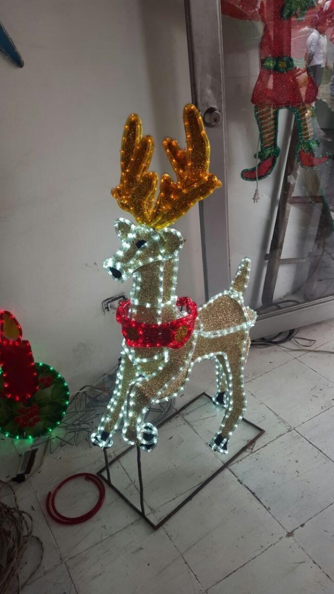 95364530be3 Decoración Navideña Reno Navidad Figura En Manguera Led -   689.800 ...