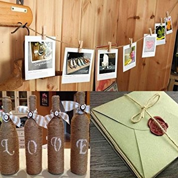 decoración paquete twine decoración de interiores natural c