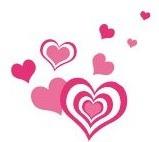 decoracion para almacenes dia del amor y la amistad