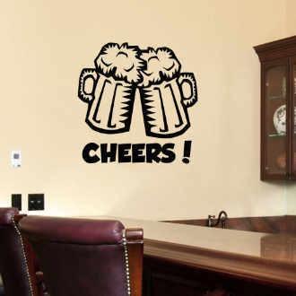 Decoracion para bares y tabernas en vinilo adhesivo 15 for Vinilos para bares
