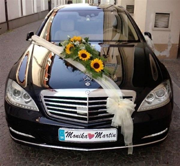 Decoracion para carro de novia en mercado libre - Decoracion coche novia ...