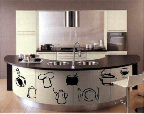 decoracion para cocinas en vinilo adhesivo