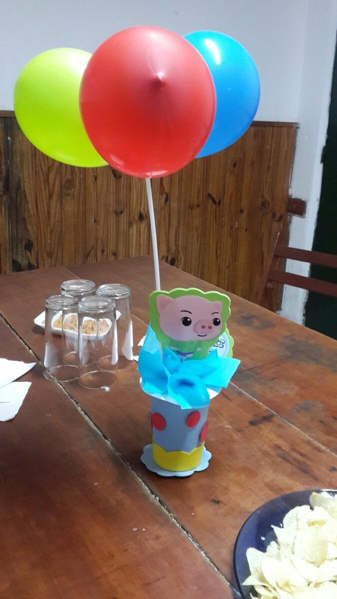 Decoracion para cumplea os del payaso plim plim en goma for Decoracion de goma eva para cumpleanos