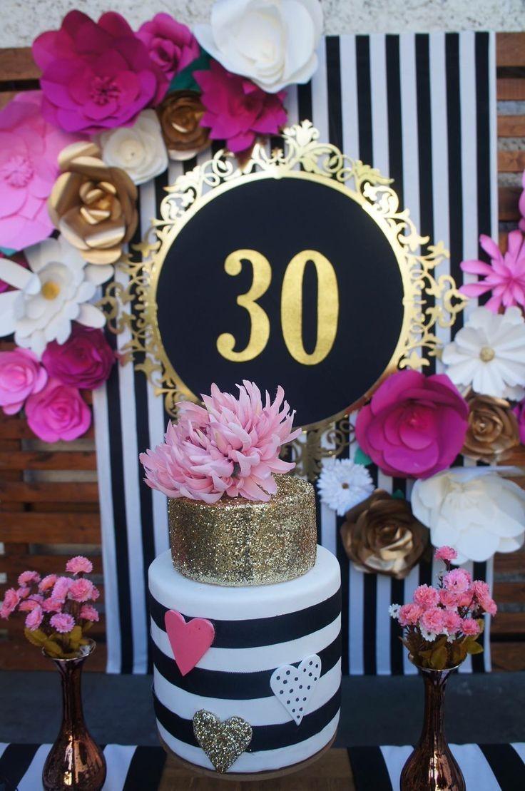 Decoracion Para Cumpleanos Flores De Papel 35 000 En Mercado Libre