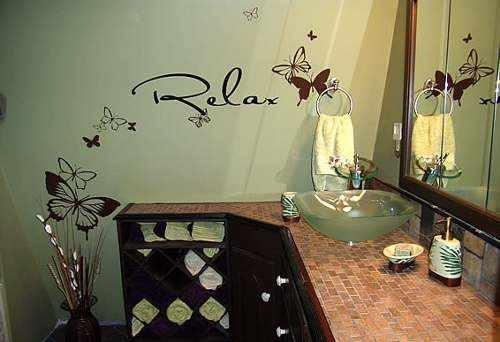 Decoracion Para El Baño En Vinilo Adhesivo - 1m X 60cm - $ 60.000 en ...