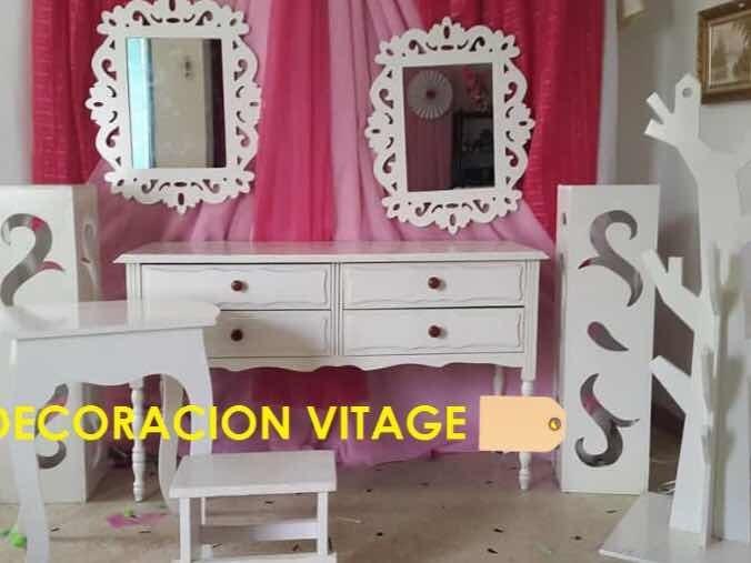 Decoración Vintage Para Festejos Fiestas Eventos Bs 2000000