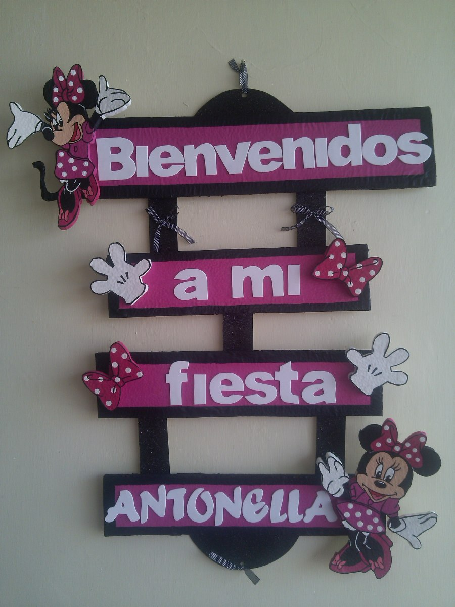 Decoracion para fiestas de minnie mouse bs 850 00 en for Decoracion de minnie mouse