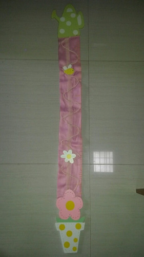 decoracion para medir estatura niña