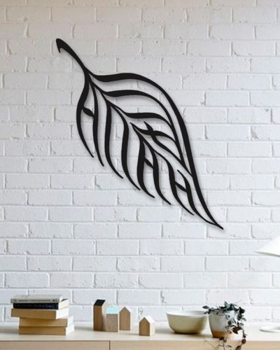 decoración para muro cuadro moderno hoja 60x60