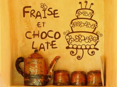 decoracion para pastelerias en vinilo adhesivo