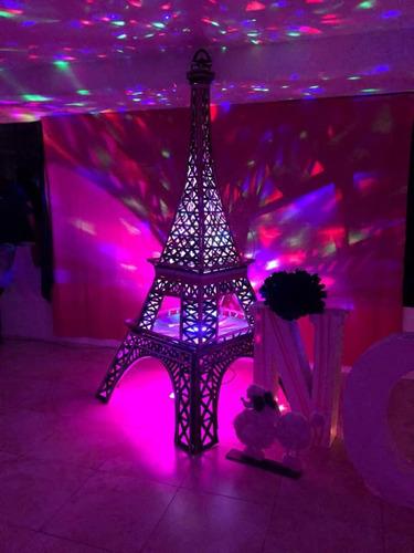 decoracion paris torre eiffel tomorrowland vintage