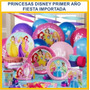 Fiesta Primer Año Princesas Disney -importada- Envio Gratis