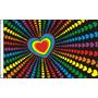 Gay Pride Falg - Bandera Del Arco Iris Del Amor De Marzo 5ft
