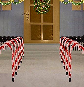 decoración prextex dulces de navidad del bastón camino marc