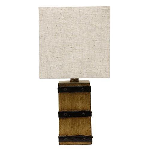 decoración terapia tl15456 lámpara de mesa borden café