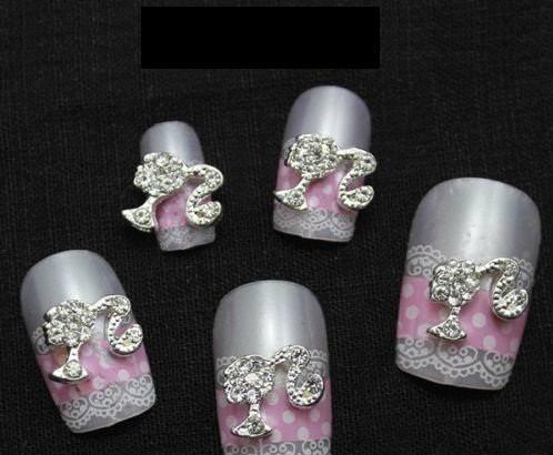 decoracion uñas acrilico dijes bisuteria gelish piedra