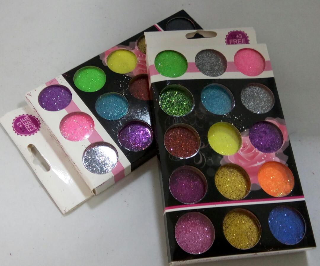 Glitter Para Decoración De Uñas En Caja Feria Mayorista