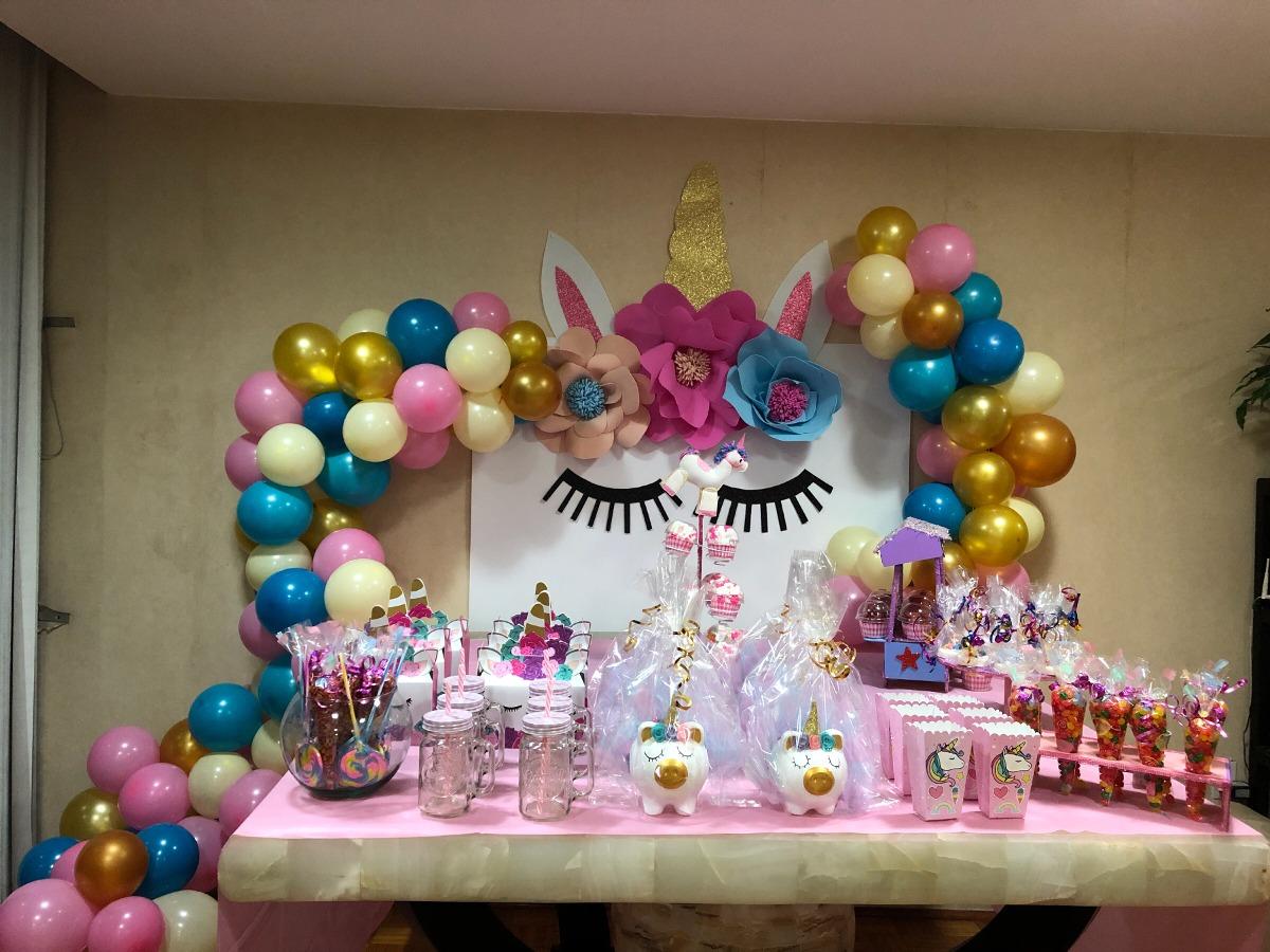 Decoraci n unicornio globos 1 en mercado libre for Adornos de decoracion