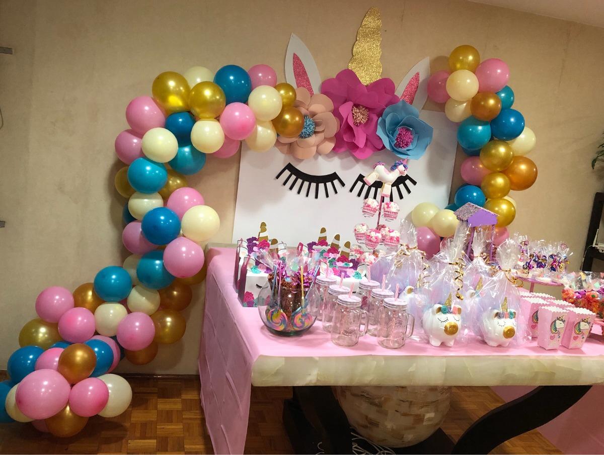 Decoraci n unicornio globos 1 en mercado libre for Decoracion para pared de unicornio