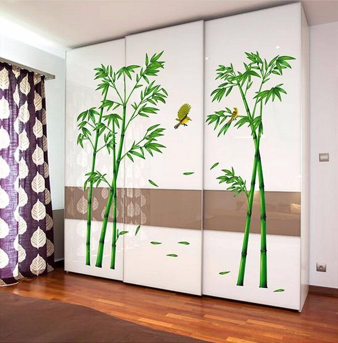 Vinilos decoraci n 2mt x 1 mt bambu vinil s 95 00 en for Muebles usados arequipa