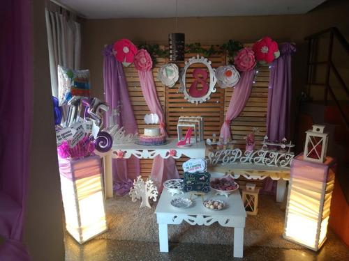 decoracion y alquiler de festejos,toldos,puff para su evento