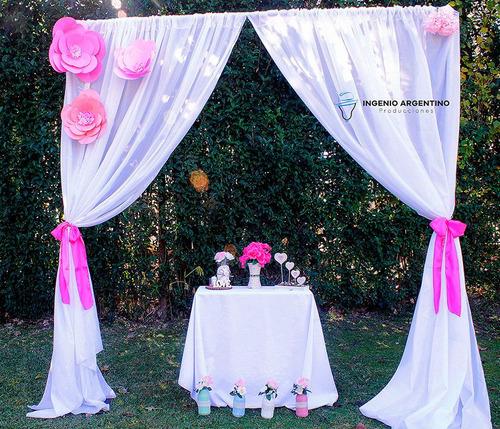 decoración y ambientación de eventos. fiestas de 15, altares