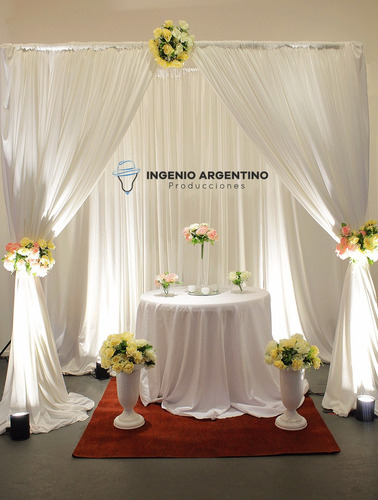decoración y ambientación de eventos. fiestas de 15, bodas