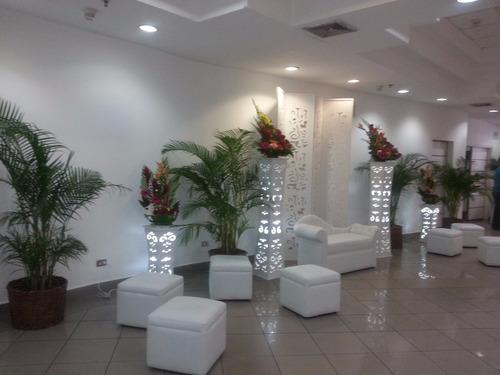 decoracion y ambientacion puff set de fotos y areas loung