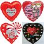 Globos Metalizados De Amor 9 Pulgadas Dia De Los Enamorados