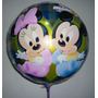 Globos Metalizados Mickey Bebe, Minnie Bebe.