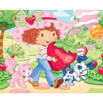 Kit Imprimible Fresita Frutillita Strawberry Shortcake Fiest