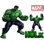 Kit Imprimible De Hulk El Hombre Increible Cumpleaños Torta