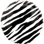 Globos Metalizados Animal Print Cebra 18 Pulgadas