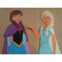 Frozen, Figuras En Foami Para Decorar