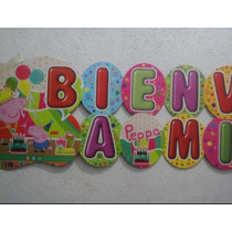 Bienvenido (cartel) Peppa Pig