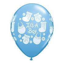 Globos Látex R12 Baby Shower, Nacimiendo, Niña, Niño 10 Unid
